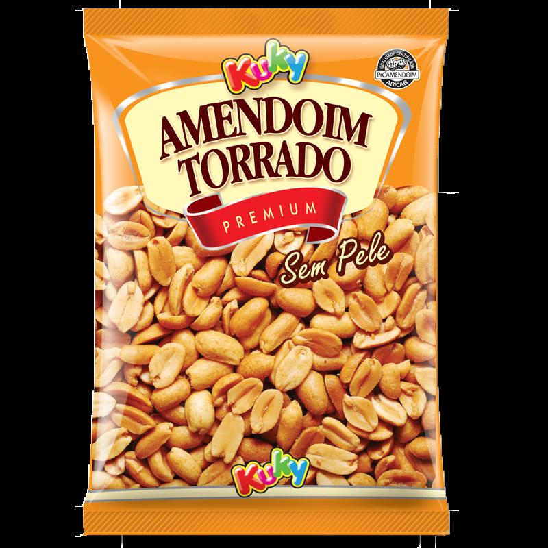 Amendoim Torrado sem pele com sal