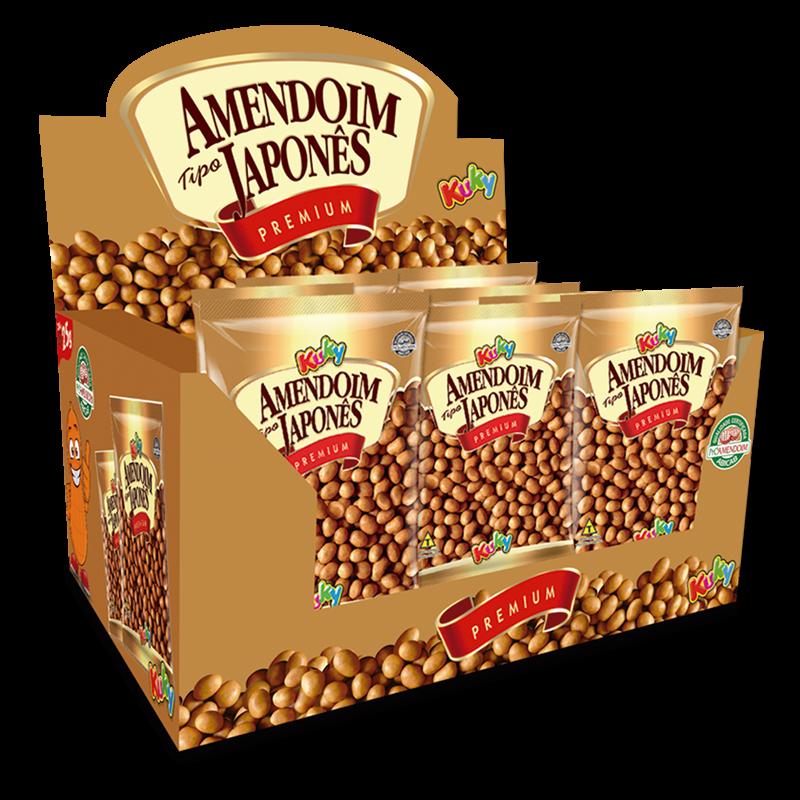 Display Amendoim Japonês