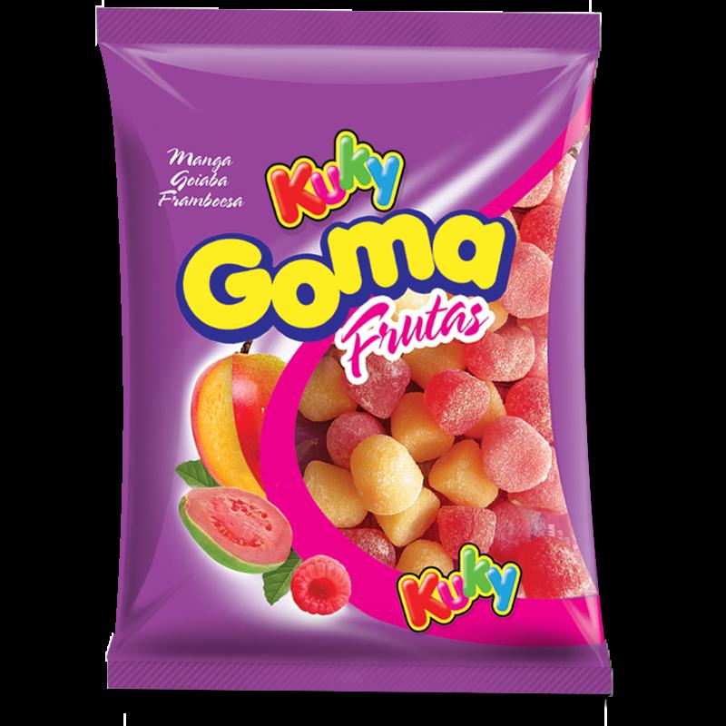 Goma Frutas