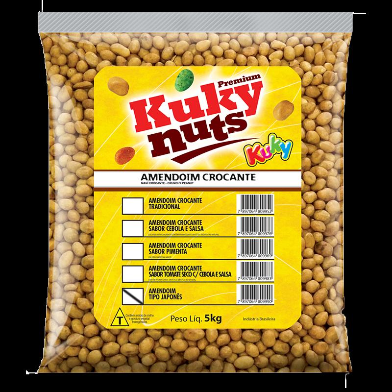 Kuky Nuts - Amendoim Japonês 5kg