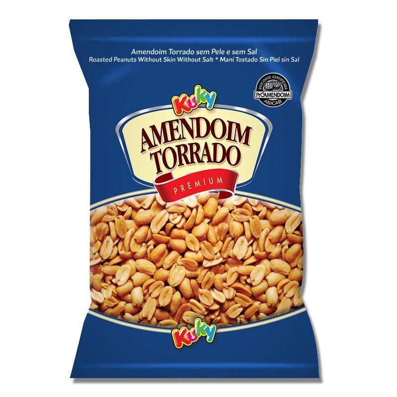 Amendoim Torrado s/pele (sem sal)